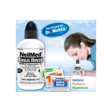 Neilmed Sinus Rinse Regular Kit Cpap Houston