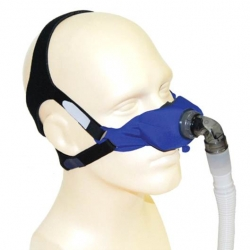 SleepWeaver Elan™ Soft Cloth Nasal CPAP Mask - Starter Kit