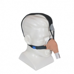 SleepWeaver Advance Small Soft Cloth Nasal CPAP Mask with Headgear