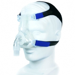 EasyFit Silicone Nasal CPAP Mask with Headgear